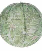 1 keer bol lampion hawaii bladeren 30 cm