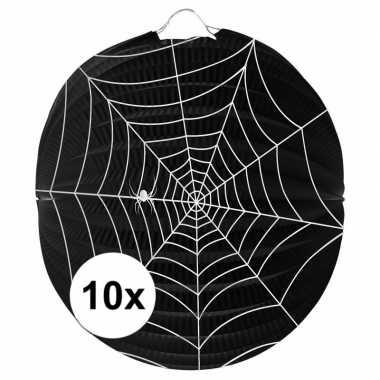 10 keer spinnenweb lampionnnen 0