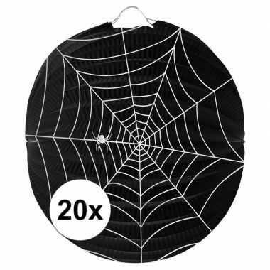 20 keer spinnenweb lampionnnen 0