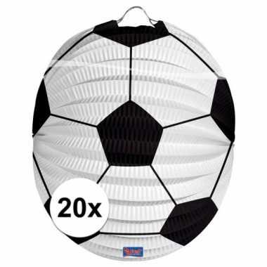 20 keer voetbal lampionnen 0 2 meter