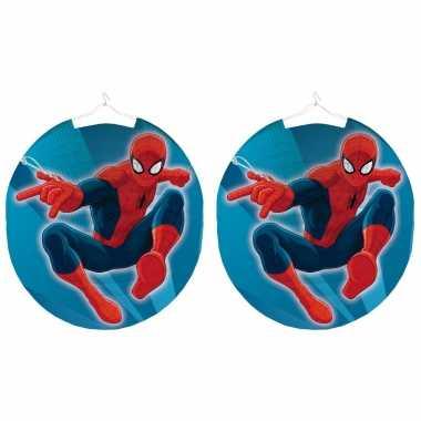 3 keer keer marvel spiderman bol lampionnen 25 cm