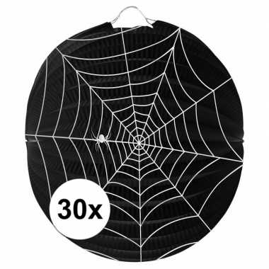 30 keer spinnenweb lampionnnen 0