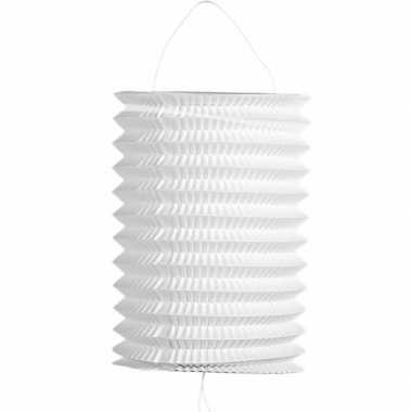 5 keer keer witte trek lampionnen 16 cm
