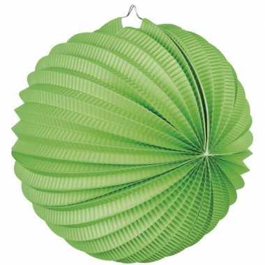 5 keer lampionnen lime groen 0