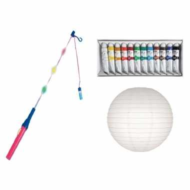 Diy knutselpakket zelf lampion maken