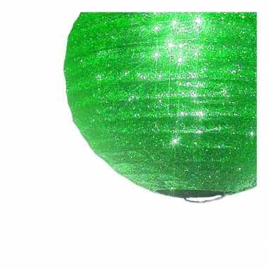 Groene lampion glitters