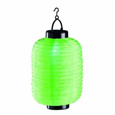 Groene solar lampion 55 cm