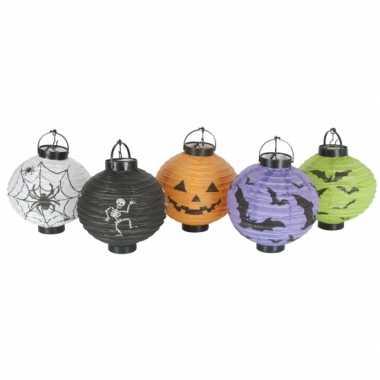 Halloween Lampionnen setje 5 keer Halloween