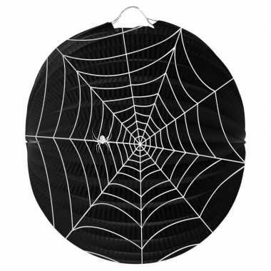 Halloween spinnenweb lampion 0