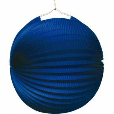 Lampion blauw 0