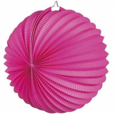Lampion fuchsia roze 0