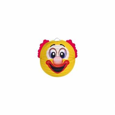 Lampion gele clown 0