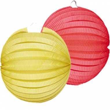 Lampionnen rood geel