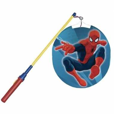 Marvel spiderman bol lampion 25 cm lampionstokje