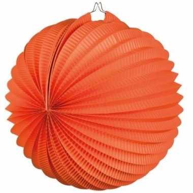 Oranje lampion rond