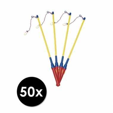 Pakket 50 lampionhouders lichtje
