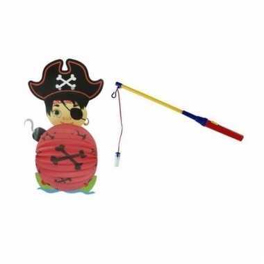 Piraat lampion 0 lampionstokje