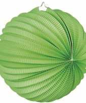 5 keer lampionnen lime groen 0 24 meter