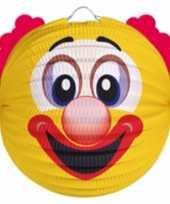 6 keer keer feest lampion gele clown 0 2 meter