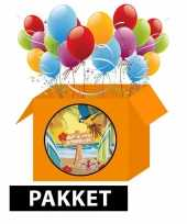 Hawaii beach feestpakket 6 personen